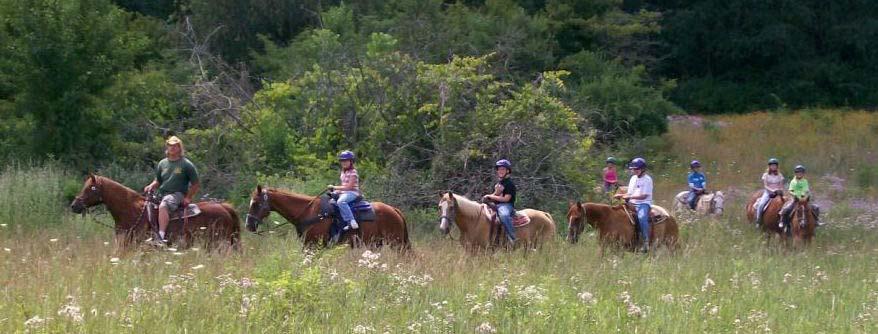 Cedar Creek Ranch - Horseback Riding
